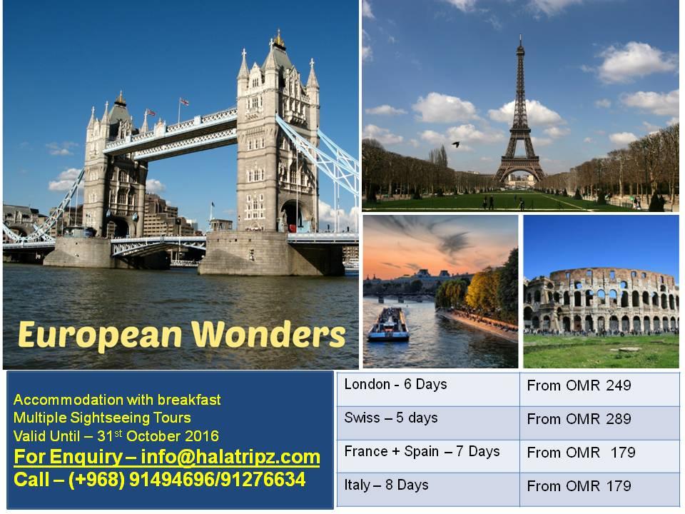European Wonders 2016